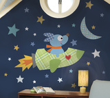 Rocketdog Peel & Stick Giant Wall Decal Wall Decal