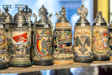 Beer Steins for Sale, Rothenburg, Germany Photographic Print by Jim Engelbrecht