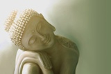 Resting Buddha I Photographic Print by Christine Ganz