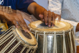 Drum Player's Hands, Varanasi, India Photographic Print by Ali Kabas