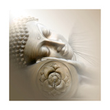 Sleeping Buddha Photographic Print by Christine Ganz