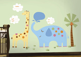 Jungle Animal New Baby Wall Decal MegaPack Wall Decal