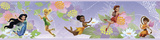Disney Fairies Peel & Stick Border Wall Decal Kalkomania ścienna