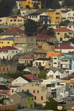 Suburb of Bo-Kaap, Cape Town, South Africa Photographic Print by David Wall