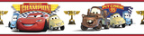Cars - Piston Cup Champion Peel & Stick Border Wall Decal Muursticker