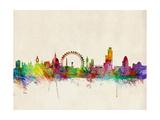 London Skyline Fotografisk tryk af Michael Tompsett