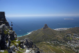 Table Mountain Aerial Cableway, Cape Town, South Africa Fotografisk tryk af David Wall