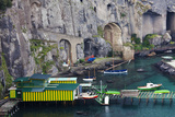 Dock Along the Waterfront of Sorrento, Italy Photographic Print by Terry Eggers