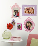 Pink & Purple Frames Peel & Stick Giant Wall Decal Wall Decal