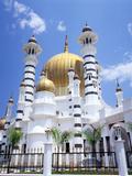 Ubudiah Mosque, Kuala Kangsar, Perak, Malaysia Photographic Print by Walter Bibikow
