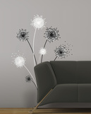 Dandelion Peel & Stick Giant Wall Decal Wall Decal
