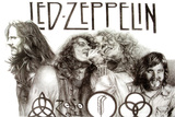 Led Zeppelin Group Music Poster Posters