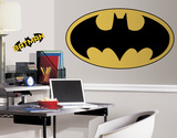 Batman Peel & Stick Giant Logo Wall Decal Wall Decal