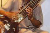 Sitar Player, Varanasi, India Photographic Print by Ali Kabas