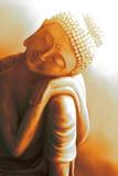 Resting Buddha II Kunstdrucke von Christine Ganz