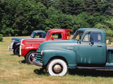 Old Pick-Up Trucks, USA Photographic Print by Walter Bibikow