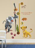 The Lion King Rafiki Peel & Stick Giant Growth Chart Wall Decal Wallstickers