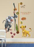 The Lion King Rafiki Peel & Stick Giant Growth Chart Wall Decal - Duvar Çıkartması