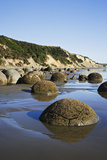 Moeraki Boulders Scenic Reserve, South Island, New Zealand Photographic Print by  Jaynes Gallery
