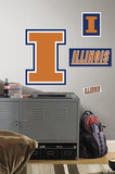 University of Illinois Giant Peel & Stick Wall Decal Wall Decal