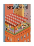 The New Yorker Cover - June 29, 1929 Premium Giclee Print by Ray Euffa