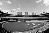 Busch Stadium St Louis Archival Photo Sports Poster Print