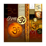 Om-Collage Photographic Print by Christine Ganz