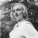 Marilyn Monroe in California Premium Photographic Print by Ed Clark