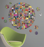 Art of Board Giant Circle Peel & Stick Wall Decal Wall Decal