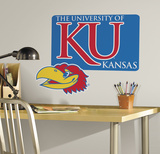 University of Kansas Giant Peel & Stick Wall Decal Wall Decal