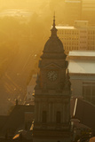 Late Light on Clock Tower, City Hall, Cape Town, South Africa Photographic Print by David Wall