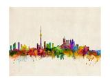 Horizonte de Toronto Lámina fotográfica por Michael Tompsett