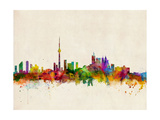 Toronto Skyline Art by Michael Tompsett
