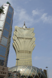 Grand Lisboa Hotel and Casino, Macau, China Photographic Print by Cindy Miller Hopkins