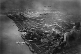 Army Aero Maneuvers Over Detroit 1931 Archival Photo Poster Photo