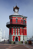 Historic Clock Tower, V and a Waterfront, Cape Town, South Africa Photographic Print by David Wall