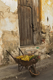 Bananas in Wheelbarrow, Havana, Cuba Photographic Print by Adam Jones