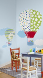 Hot Air Balloons Peel & Stick Giant Wall Decal Wall Decal