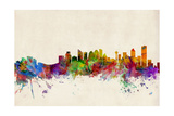 Calgary Canada Skyline Photographic Print by Michael Tompsett