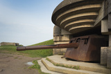 German 150Mm Artillery Battery, Longues Sur Mer, Normandy, France Photographic Print by Walter Bibikow