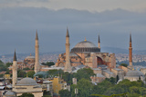 View of Haghia Sophia in Evening Light, Istanbul, Turkey Photographic Print by Darrell Gulin