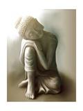 Resting Buddha Plakater af Christine Ganz