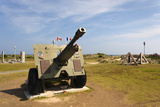 Canadian Artillery, Centre Juno Beach, Normandy, France Photographic Print by Walter Bibikow