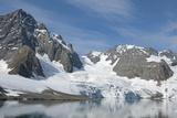 Hornbreen Glacier, Spitsbergen, Svalbard, Norway Photographic Print by Steve Kazlowski
