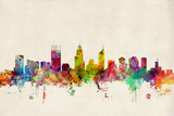 Perth Australia Skyline Photographic Print by Michael Tompsett