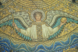 Aachen Cathedral, Mosaic of Arch Angel, Aachen, Germany Photographic Print by Jim Engelbrecht