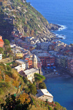 Europe, Italy, Vernazza. Cinque Terre Town of Vernazza, Italy Photographic Print by Kymri Wilt