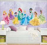 Disney Princess Royal Debut Prepasted Mural Wall Mural