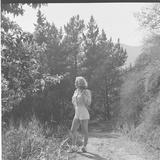 Marilyn Monroe in California Premium fotografisk trykk av Ed Clark