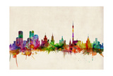 Moscow Russia Skyline Photographic Print by Michael Tompsett